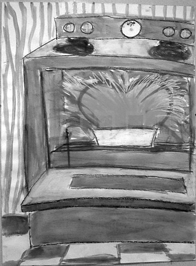 """""""Heart in Oven"""" - C. Greene Rosen"""